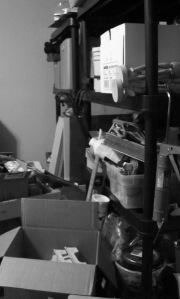 Studio Organization- In Progress
