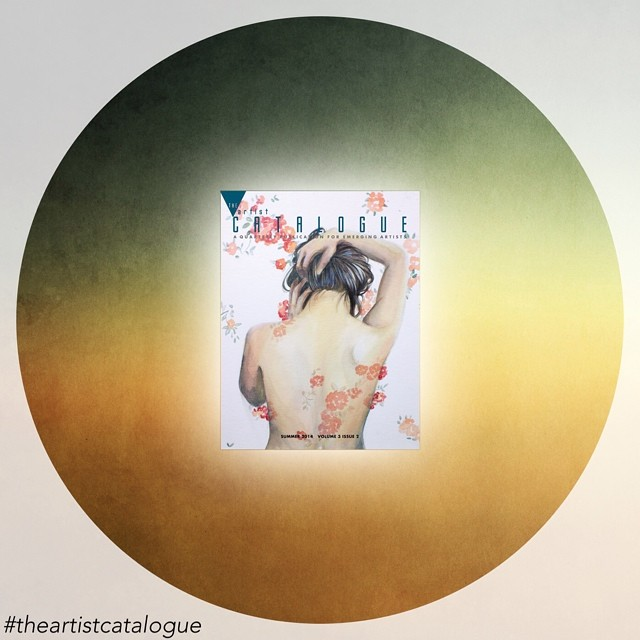 The Artist Catalogue, Summer 2014,  Volume 3, Issue 2 Image is courtesy of the www.theartistcatalogue.com